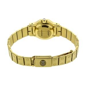 Cartier 18k Yellow Gold Santos Octagon Watch