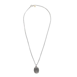 David yurman sterling silver 14k yellow gold with meteorite david yurman sterling silver 14k yellow gold with meteorite pendant necklace aloadofball Images