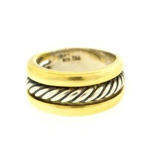 David Yurman Two Tone Cable Ring