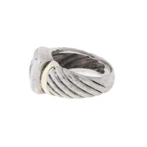 David Yurman Amethyst Ring Size 6.25