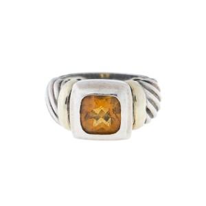 David Yurman Citrine Ring Size 6