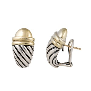 David Yurman Cable Shrimp Earrings