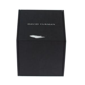 David Yurman 0.925 Sterling Silver & 18K Yellow Gold Multi Stone Drop Chandelier Earrings