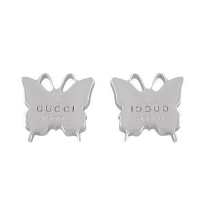 eff7ece9a3f Gucci Sterling Silver Butterfly Earrings