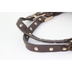 Jimmy Choo Studded Belt Buckle Tote 16mz0928