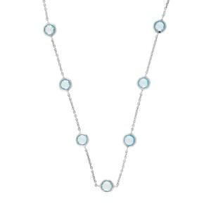 Ippolita Rock Candy .925 Silver Lollipop Blue Topaz Necklace