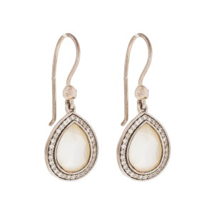 Ippolita Sterling Silver Rock Candy 0.25ct Diamond Earrings