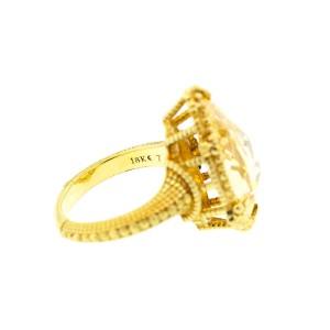 Judith Ripka Calypso Canary Crystal Ring