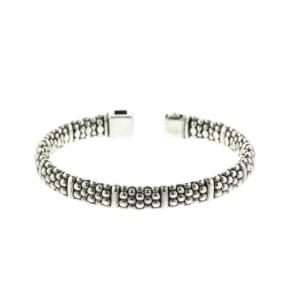 Lagos Signature Caviar Beaded Bracelet