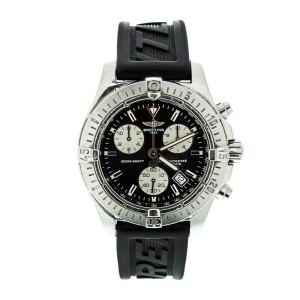 Breitling A73380 Colt Chronograph Black Dial Stainless Steel Quartz 41mm Watch