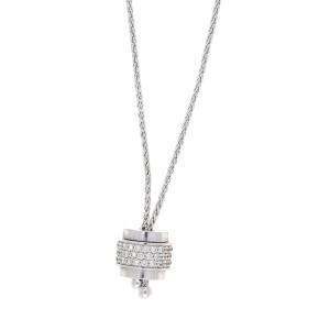 Piaget 18K White Gold 1.25ct. Diamond Adjustable Necklace