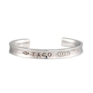 83c51f718 Sterling Silver 1837 Cuff Bracelet | Tiffany & Co. | Buy at TrueFacet