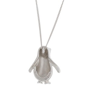 Tiffany & Co. Sterling Silver Penguin Necklace