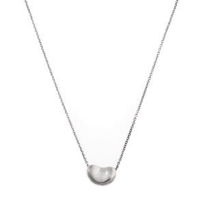 Tiffany & Co. Elsa Peretti Sterling Silver Small Bean Necklace
