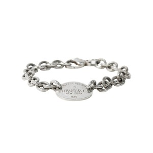 Tiffany & Co. Return To Tiffany Oval Tag Sterling Silver bracelet