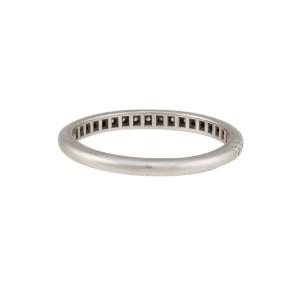 Tiffany & Co. 950 Platinum Soleste 0.17ctw Diamond Ring Size 7