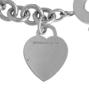 Tiffany & Co. Sterling Silver Heart Link Toggle Bracelet