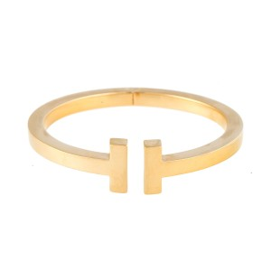 Tiffany & Co. T Square 18K Yellow Gold Bracelet