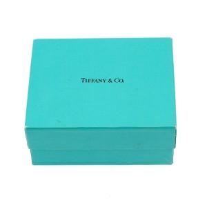 Tiffany & Co. Elsa Peretti Sterling Silver Open Heart 0.02ct. Diamond Necklace