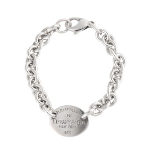 Tiffany & Co. Sterling Silver Return To Tiffany Oval Link Bracelet