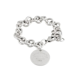 Tiffany & Co. Sterling Silver Return to Tiffany Charm Bracelet