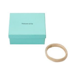 Tiffany & Co. Sterling Silver Mesh Weave Bracelet