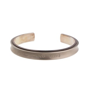 Tiffany & Co. 1837 Titanium and Sterling Silver Cuff Bracelet