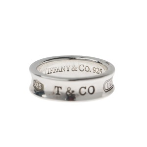 Tiffany & Co. 1837 Sterling Silver Ring Size 8