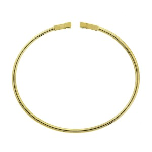 Tiffany & Co. Yellow Gold 'T' Bracelet