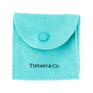"""Tiffany & Co. Sterling Silver """"O"""" Ring Size 7"""