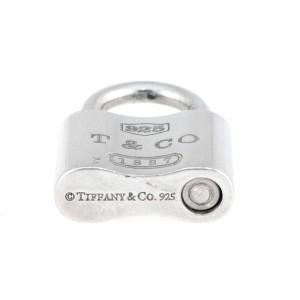 Tiffany & Co. Sterling Silver 1837 Padlock Charm Pendant