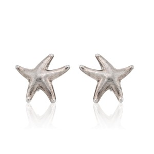 ffaa35098 Sterling Silver Starfish Earrings | Tiffany & Co. | Buy at TrueFacet