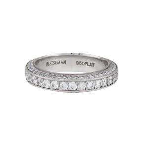 Platinum 1.76ctw Diamond Ring Size 4.75