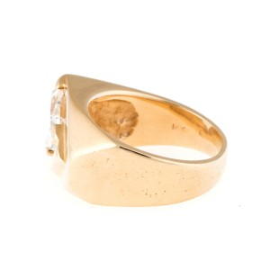 14K Yellow Gold 2.04ct Diamond Ring Size 9.5