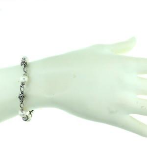 Stering Silver Fresh Water Pearl Bracelet