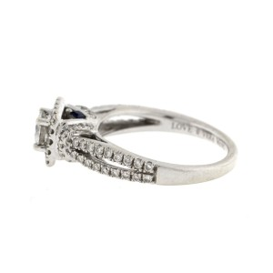 Vera Wang 14 White Gold Diamond 'Love' Ring