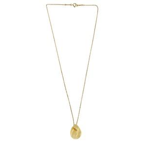 Tiffany & Co. Elsa Perreti 18k Yellow Gold Madonna Pendant Necklace