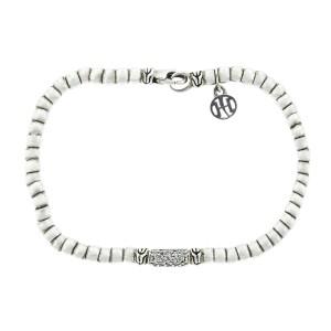 John Hardy Bedeg Beaded Diamond Bracelet