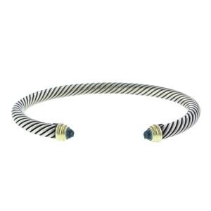David Yurman Blue Topaz Cable Classics Bracelet