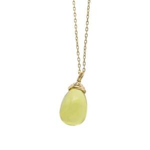 Goshwara Scala 18k Yellow Gold  Blue Topaz, Yellow Quartz, Diamonds Necklace