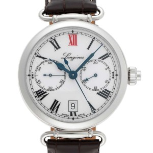 Longines Heritage L27764213 40mm Mens Watch