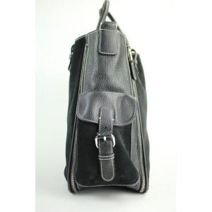 Lambertson Truex Expandable 2way Satchel 60misa13117 Black Tote Bag