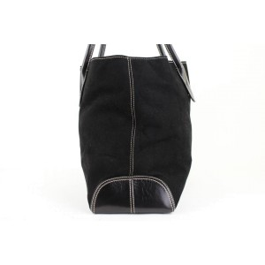 Other Large 11mt920 Black Leather Tote