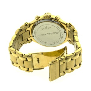 Michael Kors MK5097 Gold Plated Chronograph Watch