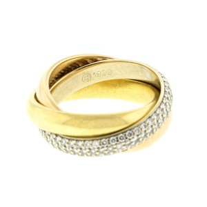 Cartier Trinity Pave Diamonds Ring