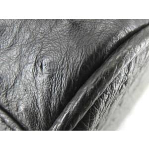 Ostrich Leather Boston Duffle 859159