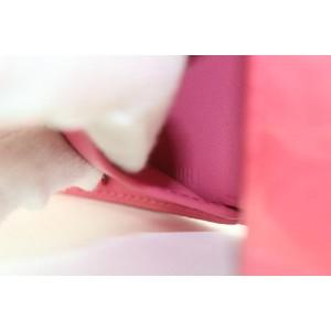 Louis Vuitton Pink Monogram Vernis Elise Compact Wallet 12lvs111