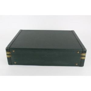 Louis Vuitton Green Taiga Leather President Attache Briefcase 1lvs1231