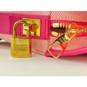 Louis Vuitton Pink 2009 Cruise Rider Articles de Voyage Shoulder Bag 861939