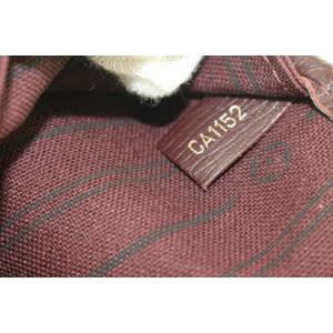 Louis Vuitton Sepia Monogram Neverfull MM Tote Bag 226lvs210